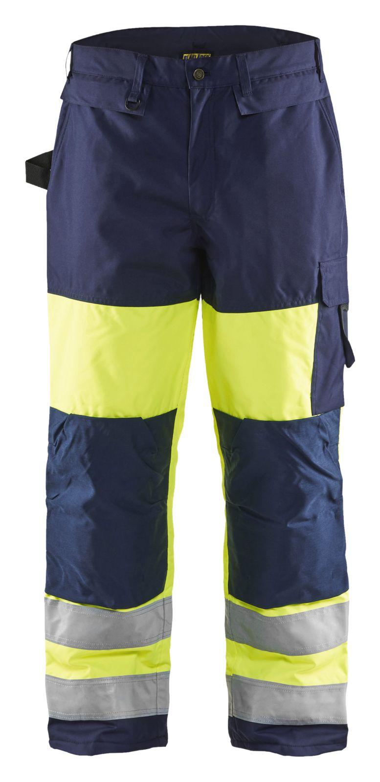 Blaklader Broeken 18831997 High Vis geel-marineblauw(3389)