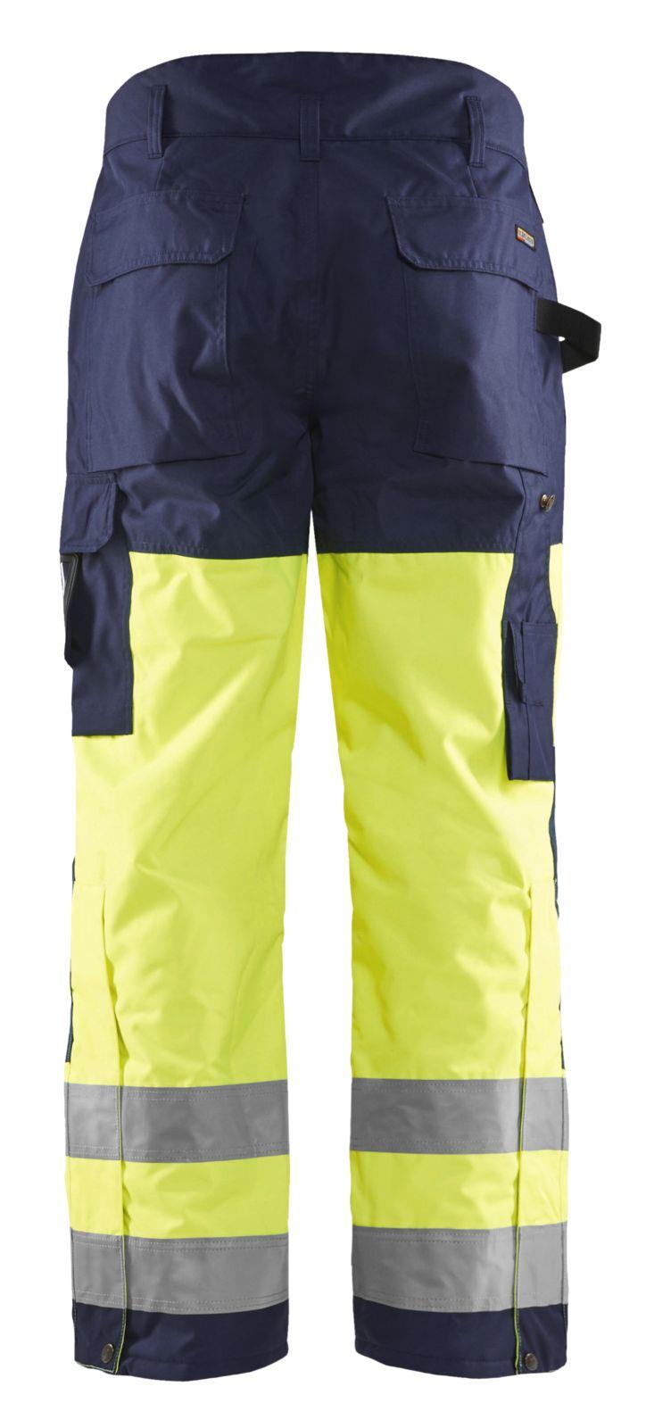 Blaklader Winterbroeken 18831997 High Vis geel-marineblauw(3389)