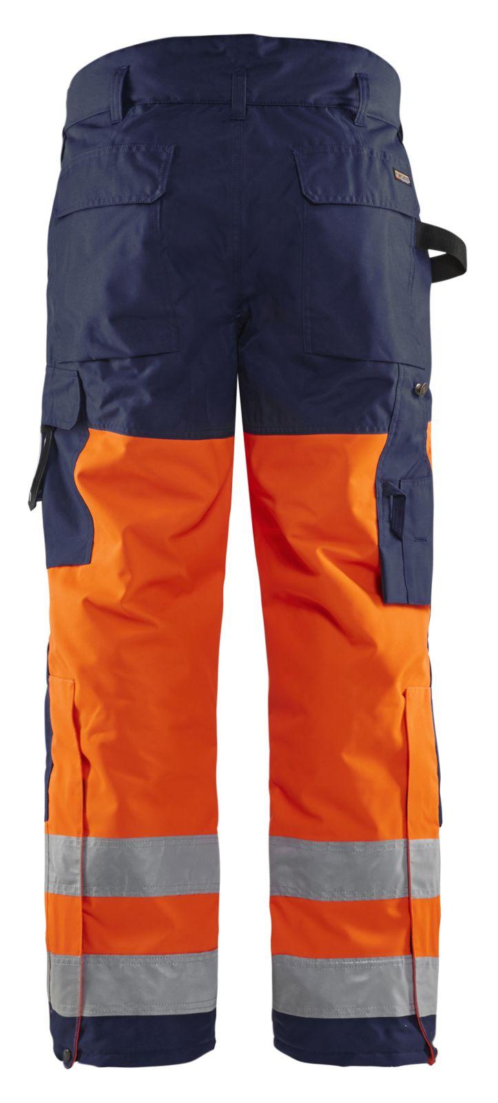 Blaklader Winterbroeken 18831997 High Vis oranje-marineblauw(5389)
