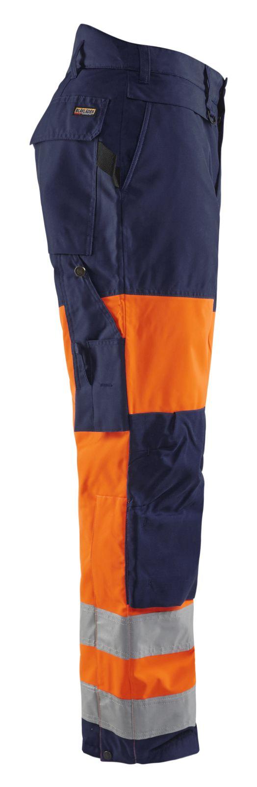 Blaklader Winterwerkbroeken 18831997 High Vis oranje-marineblauw(5389)
