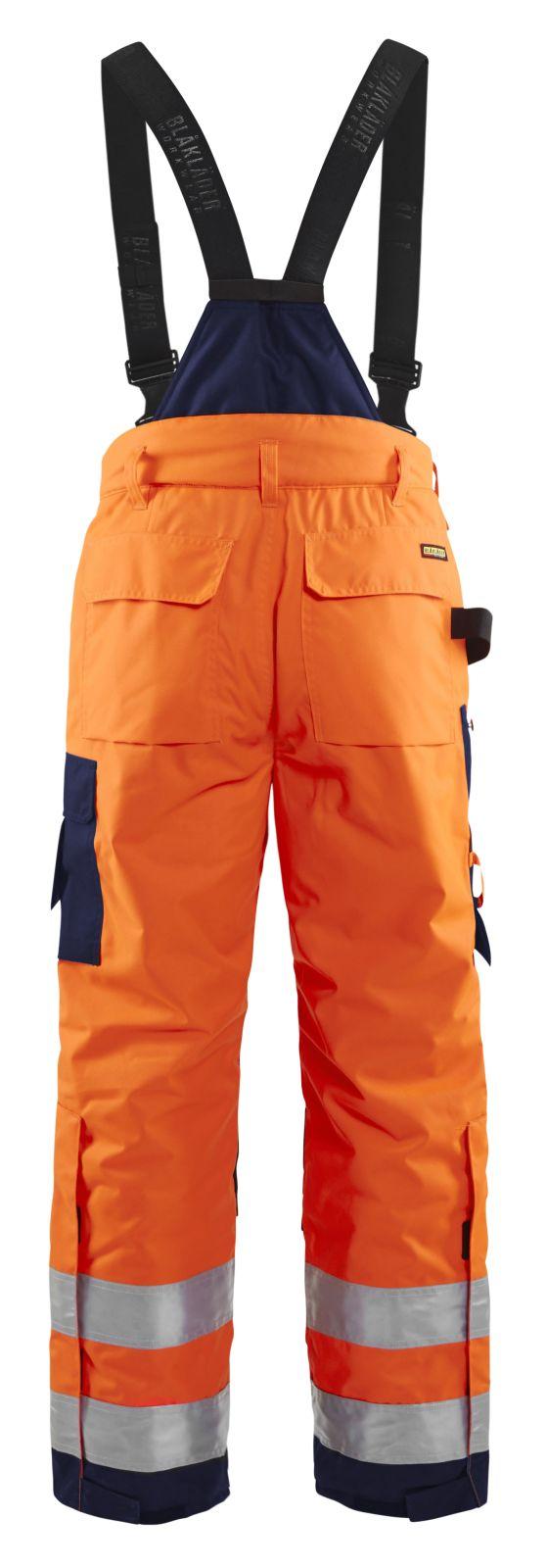 Blaklader Winterwerkbroeken 18851977 High Vis oranje-marineblauw(5389)