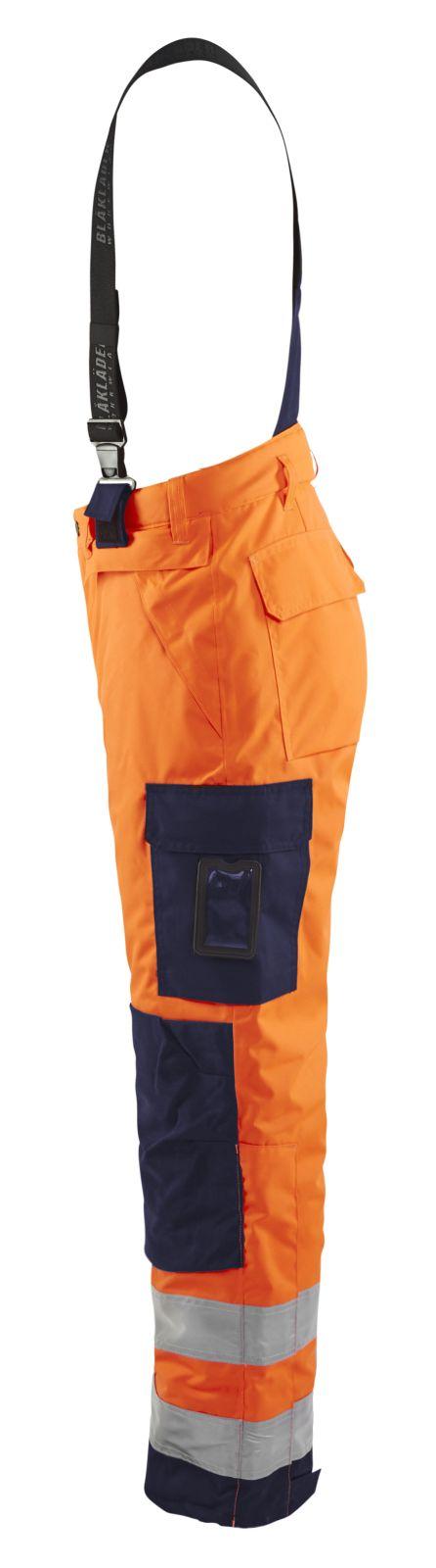 Blaklader Winterbroeken 18851977 High Vis oranje-marineblauw(5389)