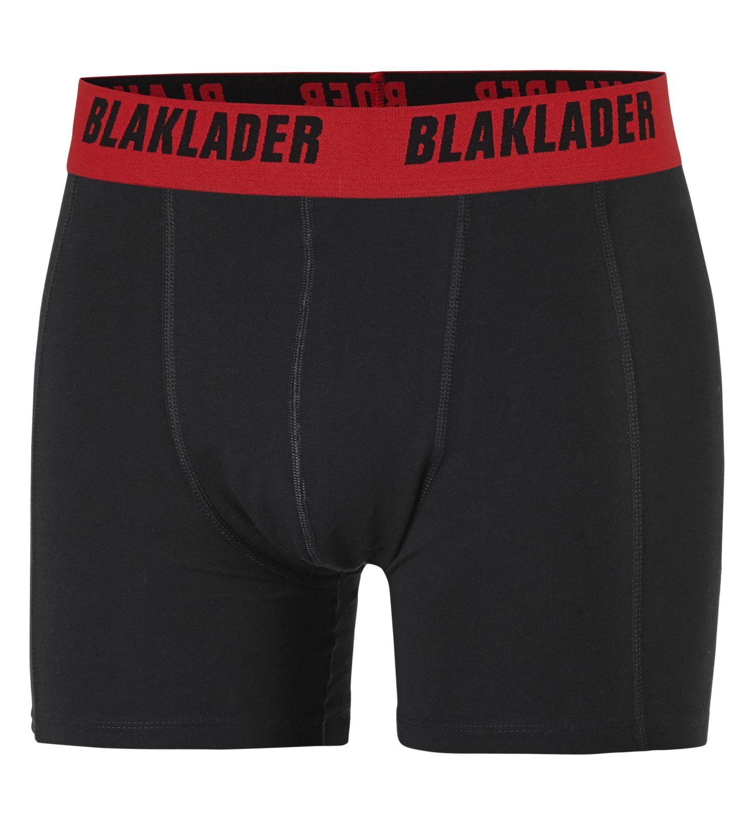 Blaklader Boxershorts 18971166 2-pack wit-rood(1056)