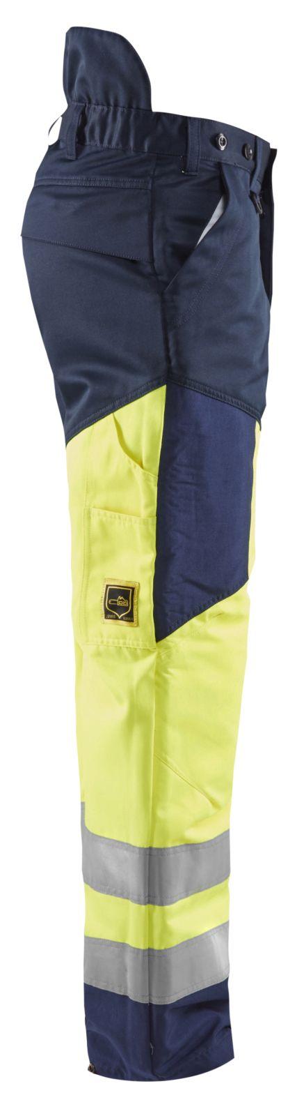 Blaklader Zaagbroeken 19201900 High Vis geel-marineblauw(3389)