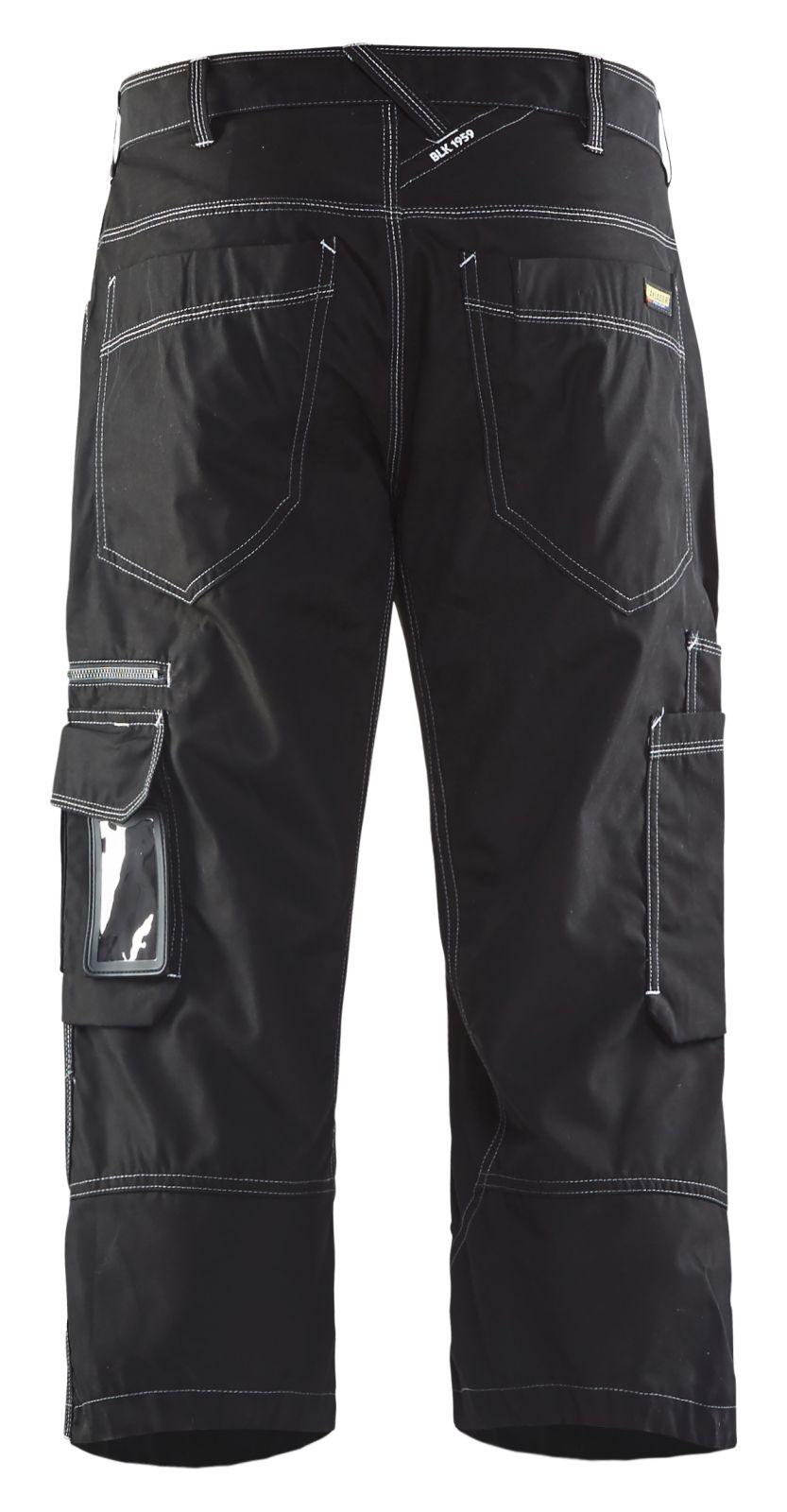 Blaklader Piraatbroeken 19581845 zwart(9900)