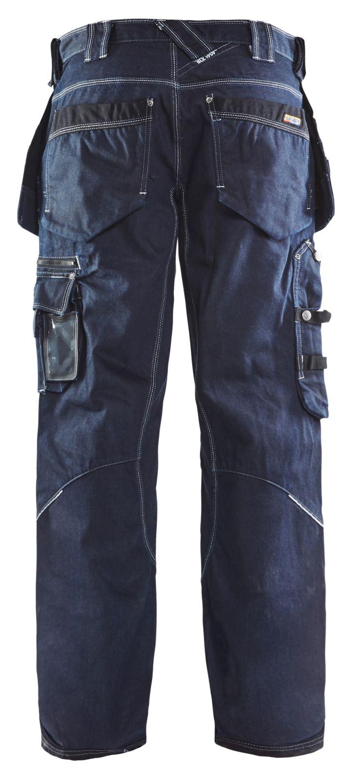 Blaklader Broeken 19601140 marineblauw-zwart(8999)