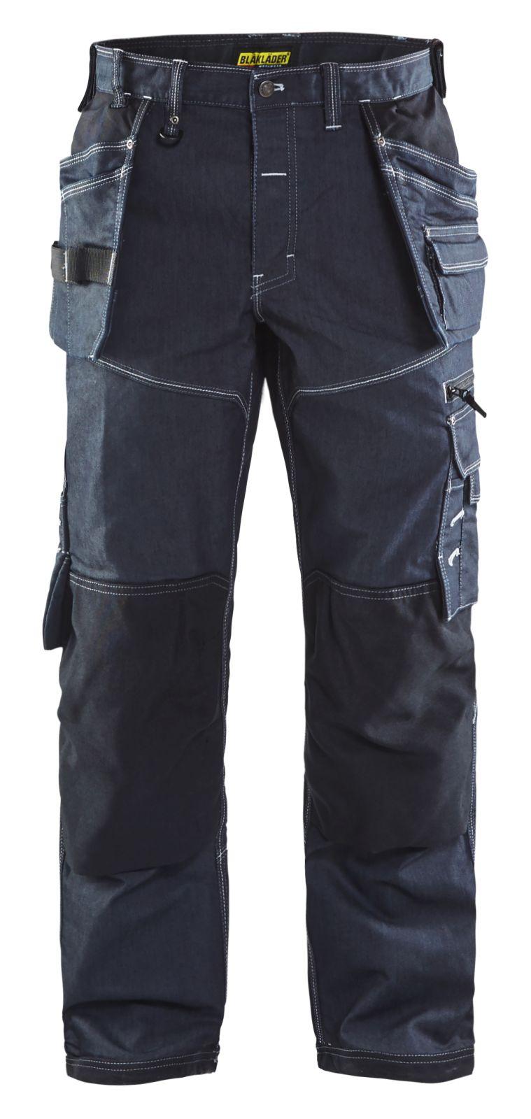 Blaklader Werkbroeken 19601141 met Stretch marineblauw-zwart(8999)