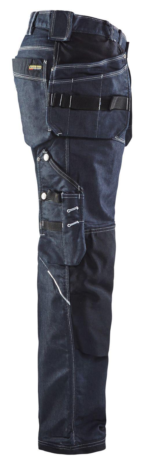 Blaklader Broeken 19601141 met Stretch marineblauw-zwart(8999)
