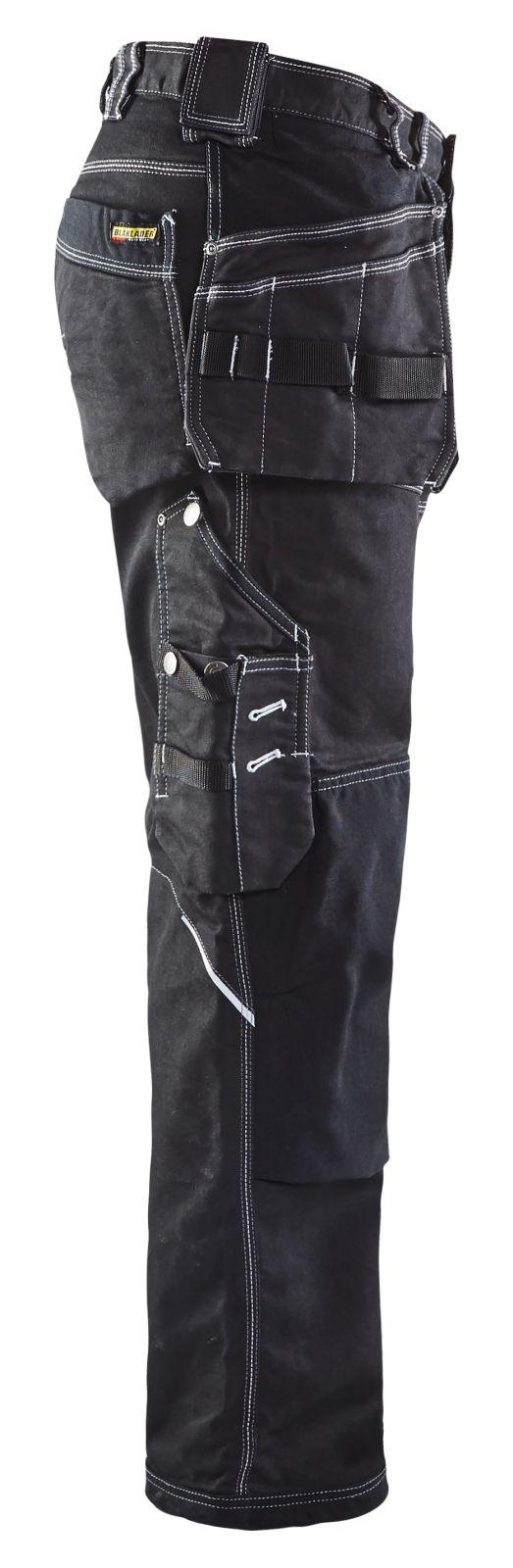 Blaklader Werkbroeken 19601141 met Stretch zwart(9900)