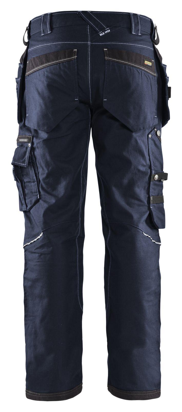 Blaklader Werkbroeken 19611146 donker marineblauw-zwart(8699)