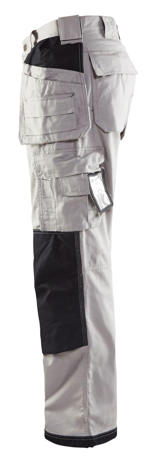 Blaklader Werkbroeken 19611146 licht grijs-zwart(9199)