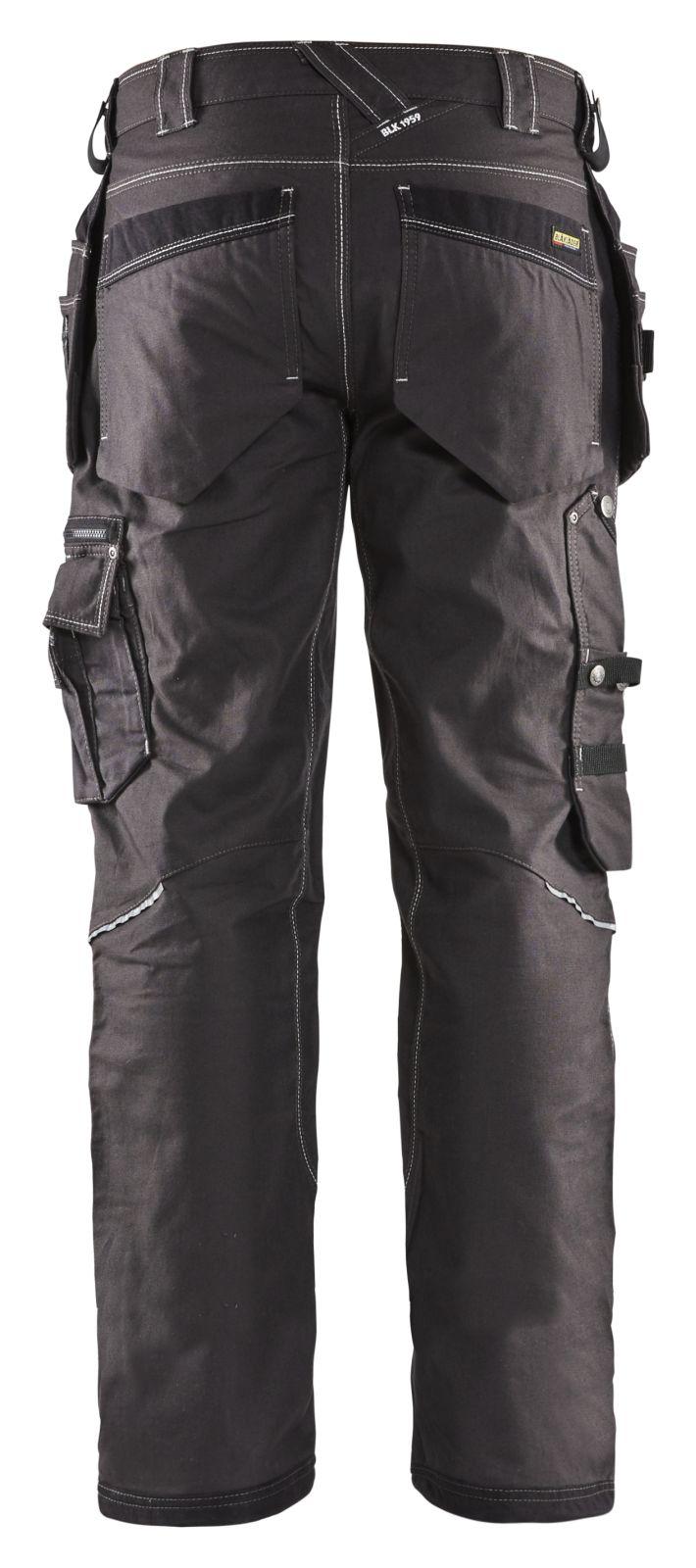 Blaklader Werkbroeken 19611146 donkergrijs-zwart(9899)