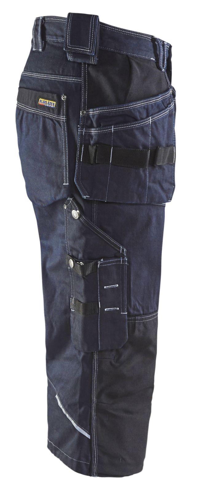 Blaklader Piraatbroeken 19621140 marineblauw-zwart(8999)