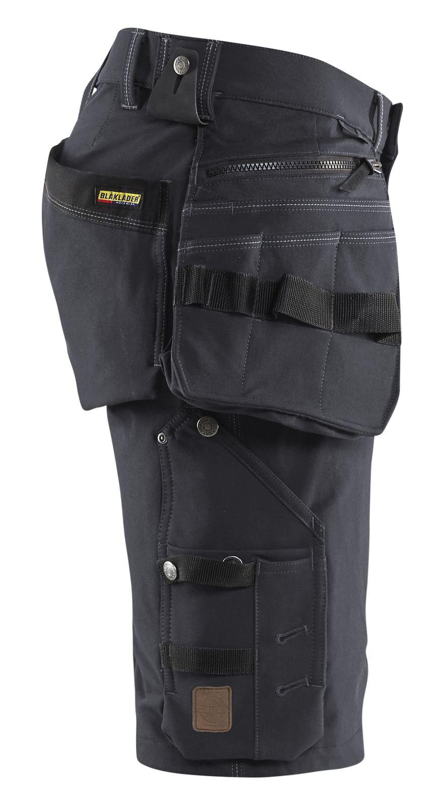 Blaklader Broeken 19881644 Stretch donkergrijs-zwart(9899)