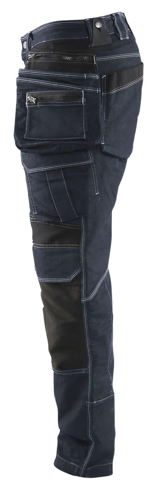 Blaklader Werkbroeken 19901141 met Stretch marineblauw-zwart(8999)