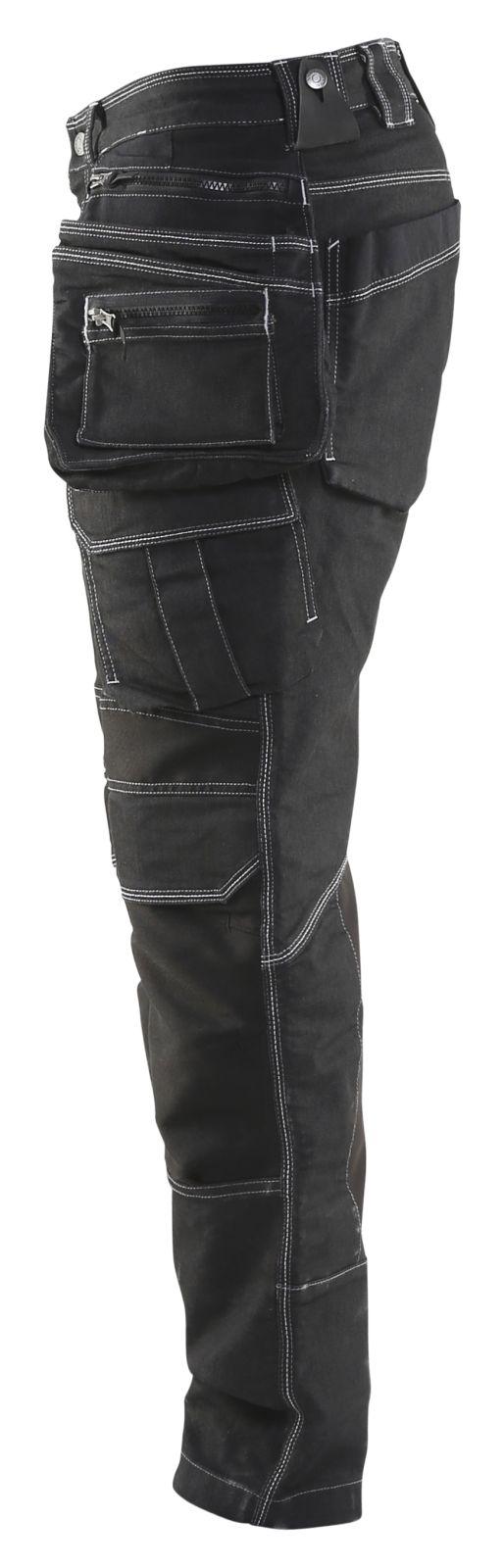 Blaklader Werkbroeken 19901141 met Stretch zwart(9900)