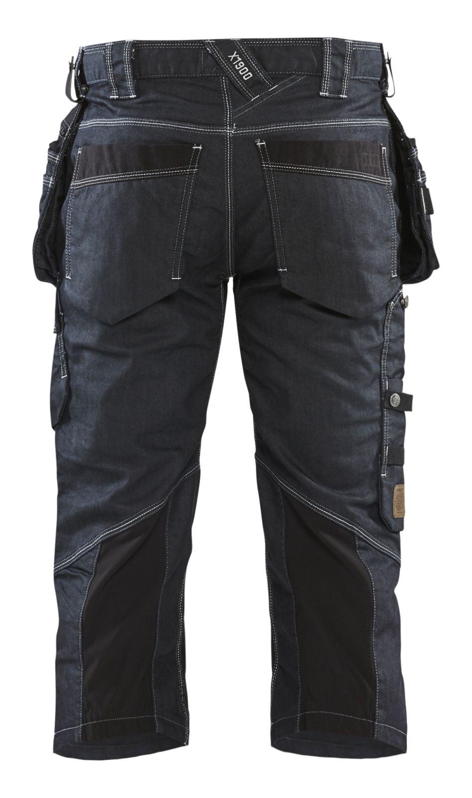 Blaklader Piraatbroeken 19911141 met Stretch marineblauw-zwart(8999)