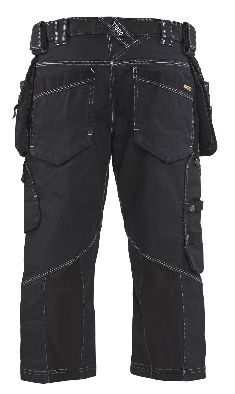 Blaklader Piraatbroeken 19911141 met Stretch zwart(9900)