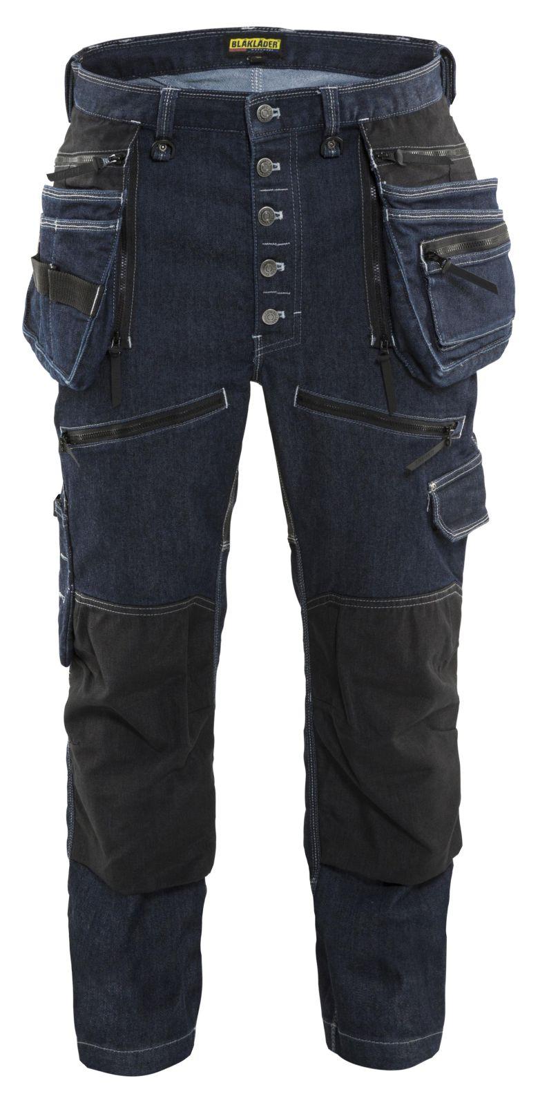 Blaklader Werkbroeken 19991141 met Stretch marineblauw-zwart(8999)