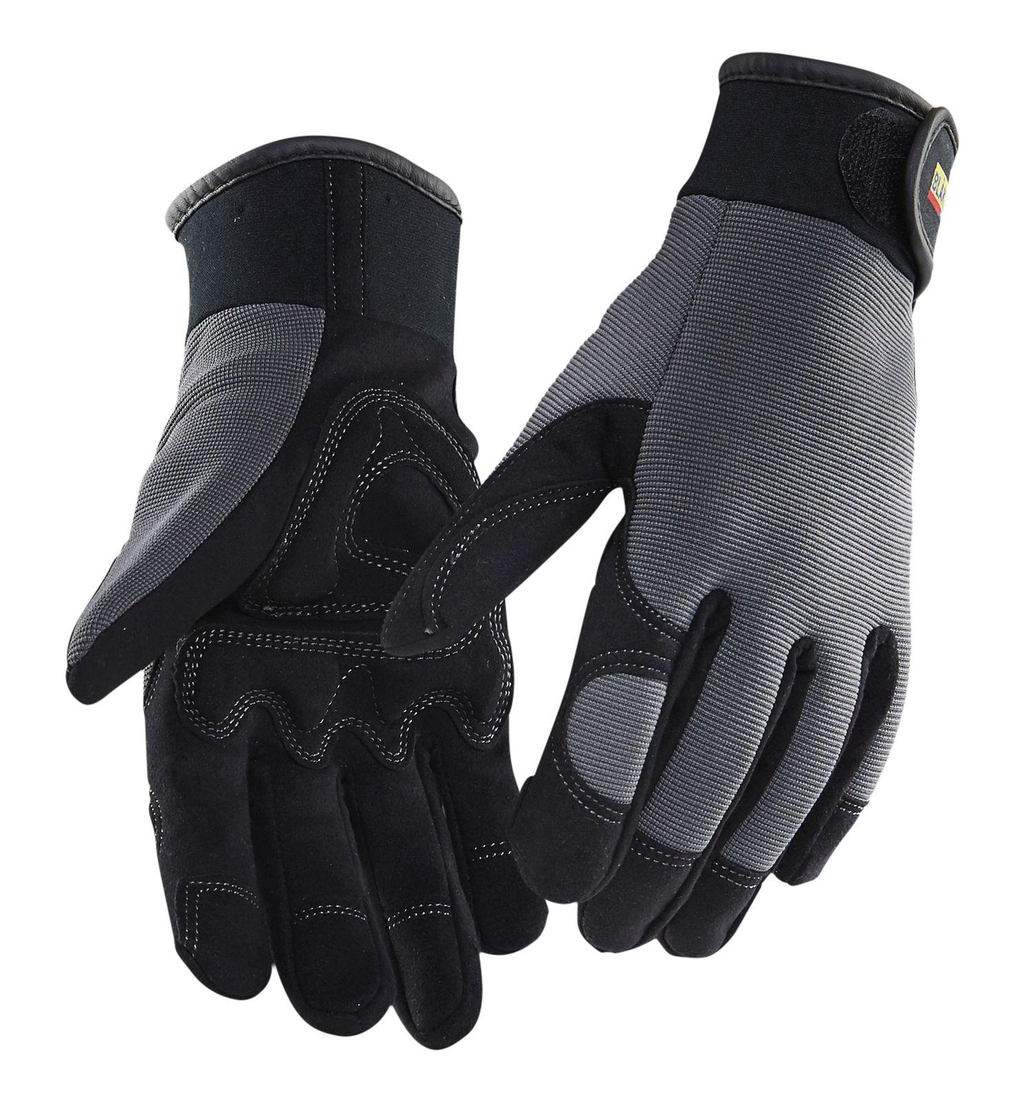 Blaklader Werkhandschoenen 22353915 zwart-grijs(9994)