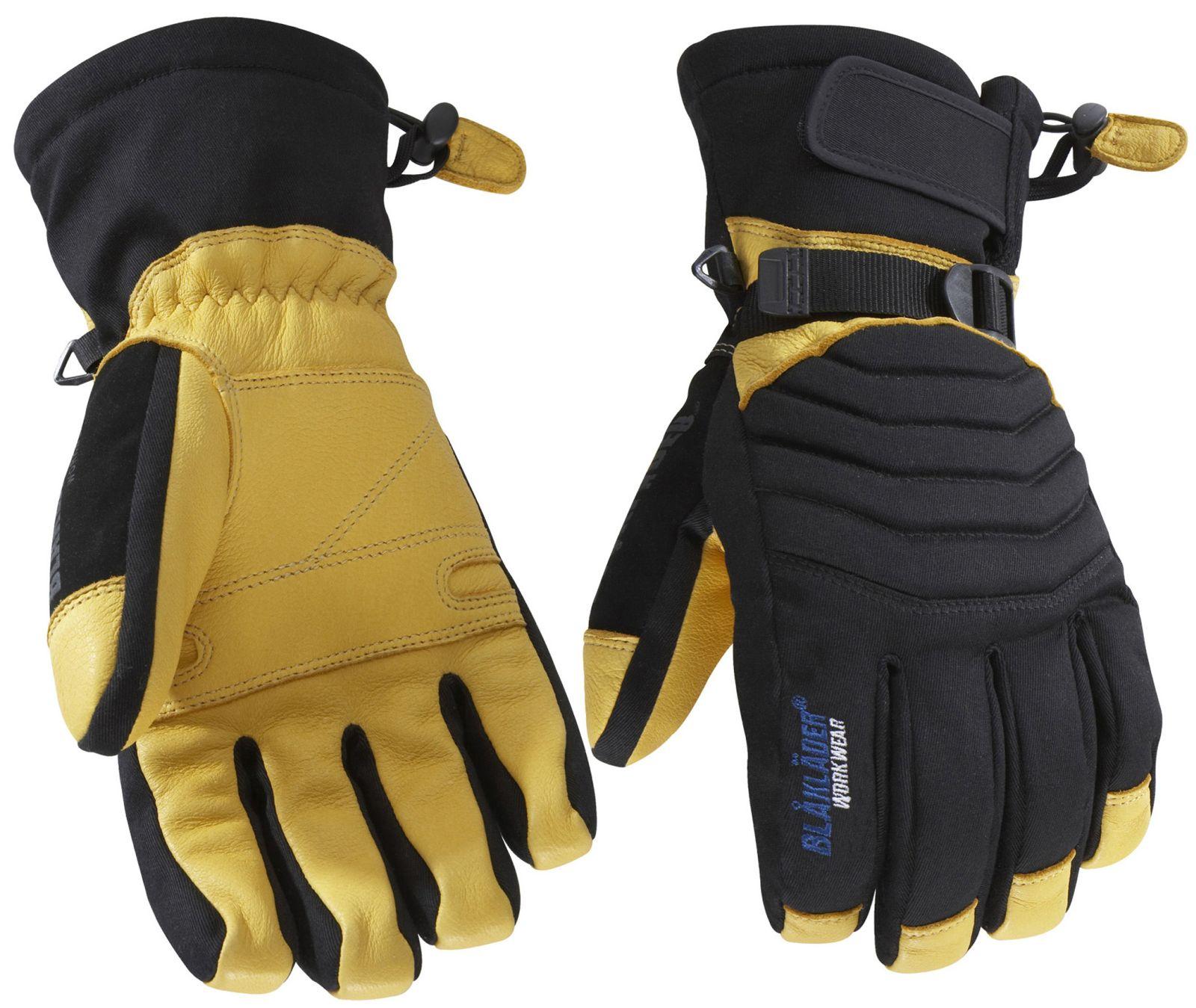 Blaklader Werkhandschoenen 22383922 zwart-geel(9933)