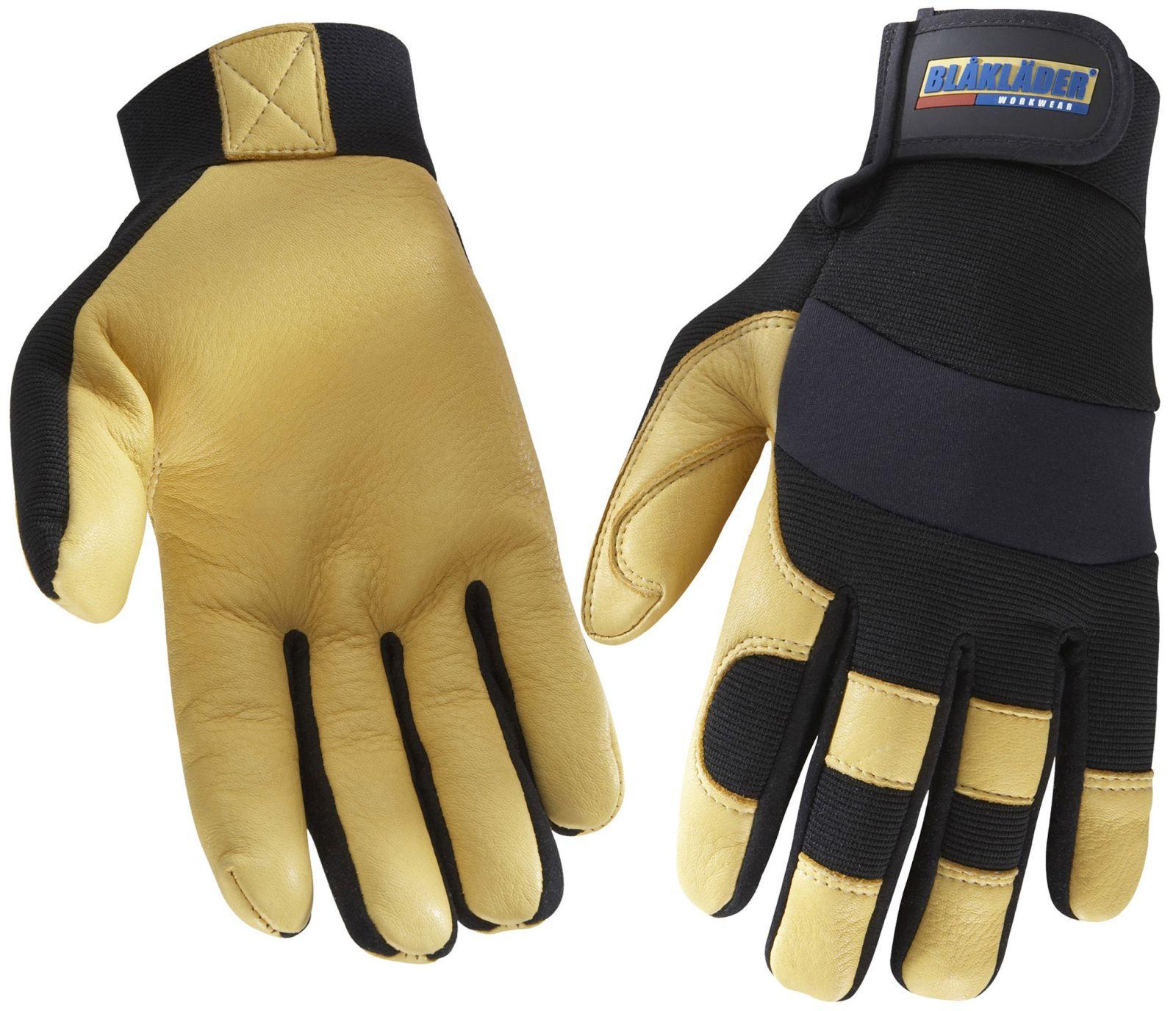 Blaklader Werkhandschoenen 22393923 zwart-geel(9933)