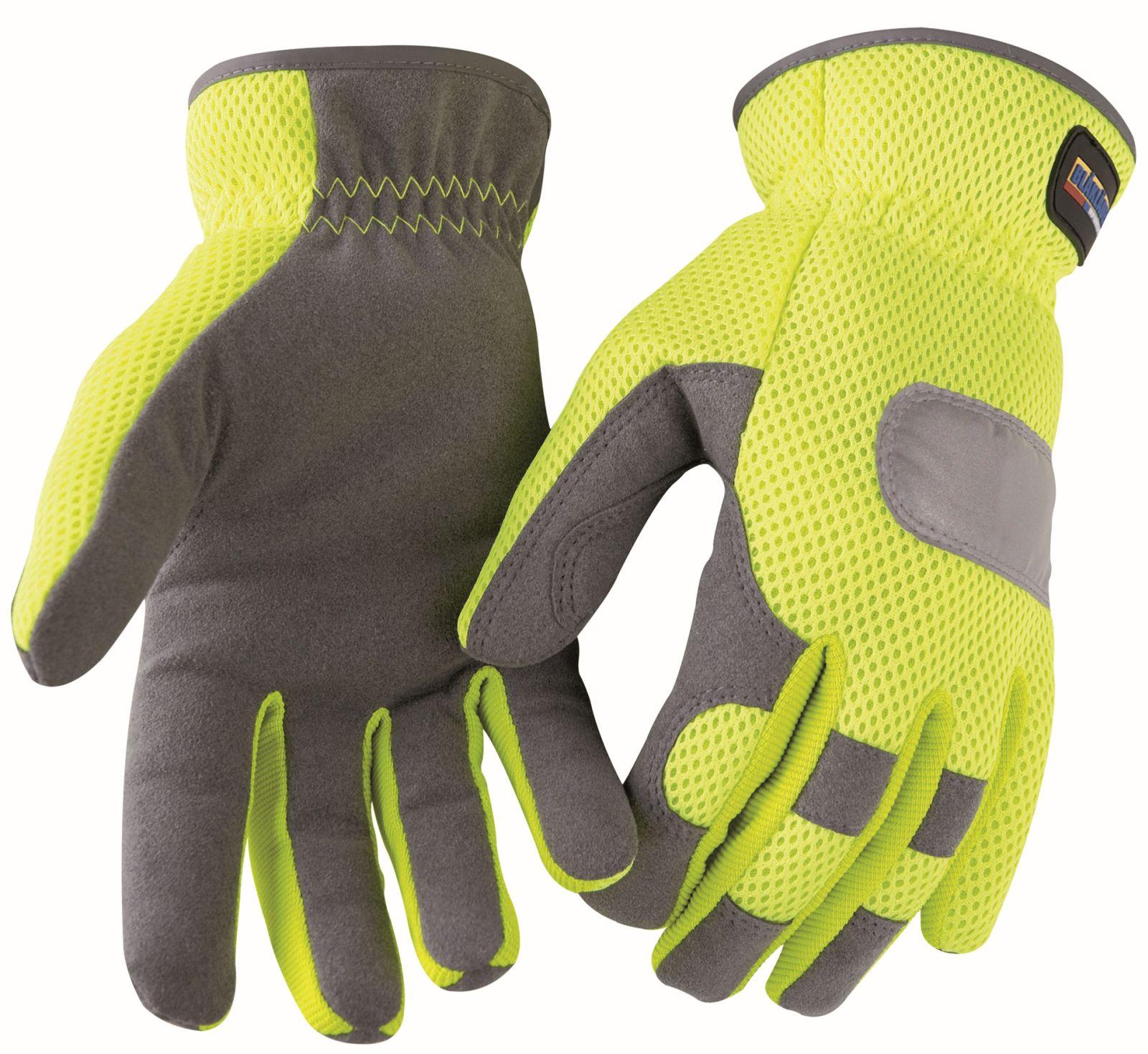 Blaklader Handschoenen 22423932 High Vis fluo geel-grijs(3394)