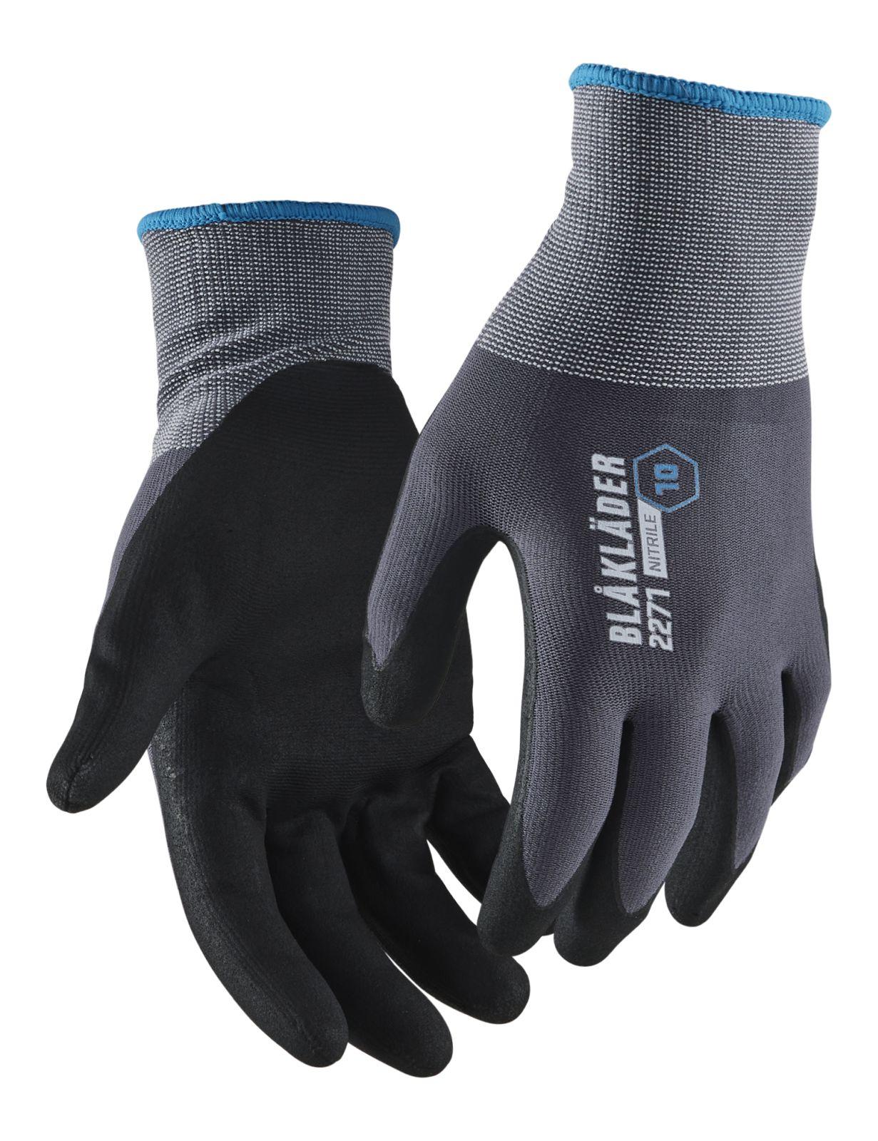 Blaklader Werkhandschoenen 22711049 grijs-zwart(6002)