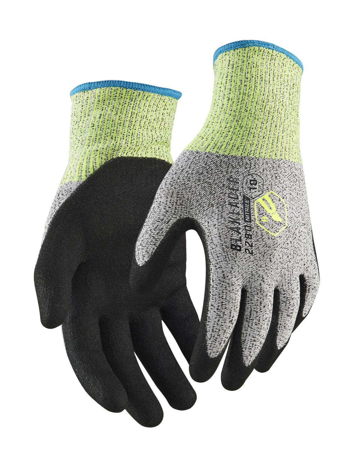 Blaklader Werkhandschoenen 22803946 zwart-grijs(9990)