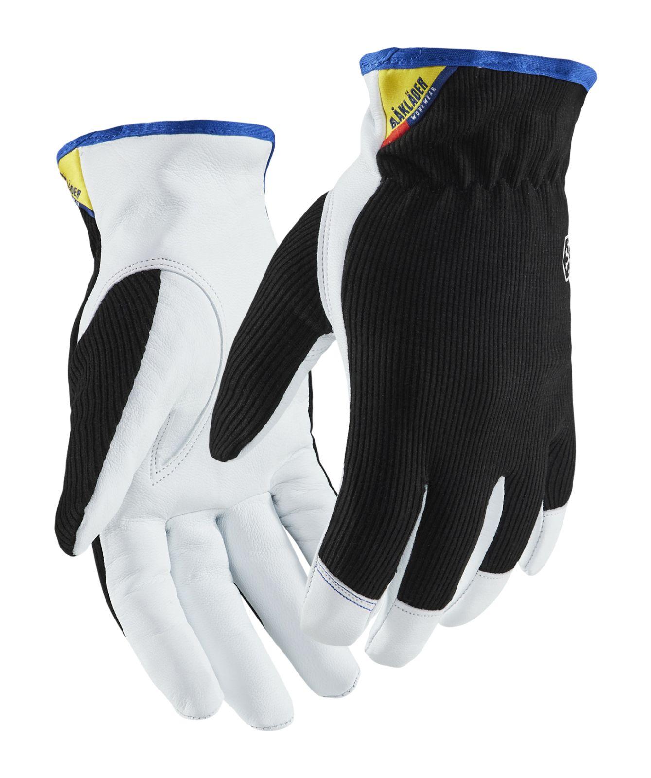 Blaklader Werkhandschoenen 22863910 zwart-wit(9910)
