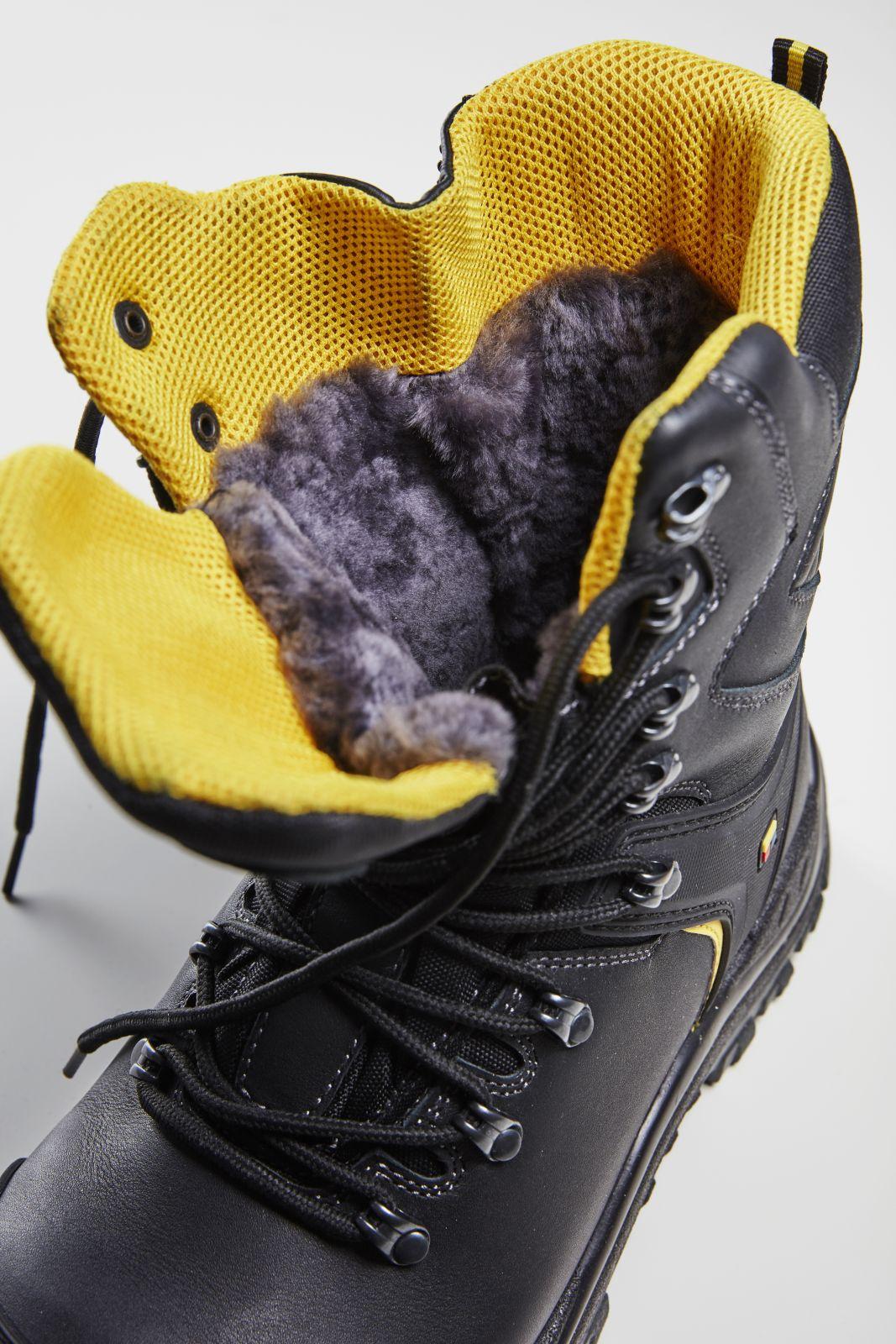 Blaklader Veiligheidsschoenen winter 23221090 Brede pasvorm zwart-grijs(9997)