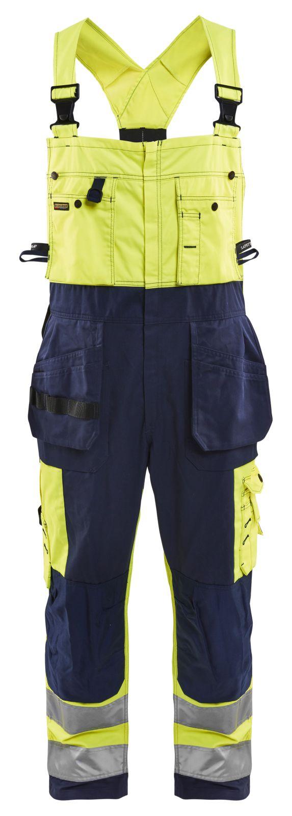Blaklader Amerikaanse overalls 26031860 High Vis geel-marineblauw(3389)