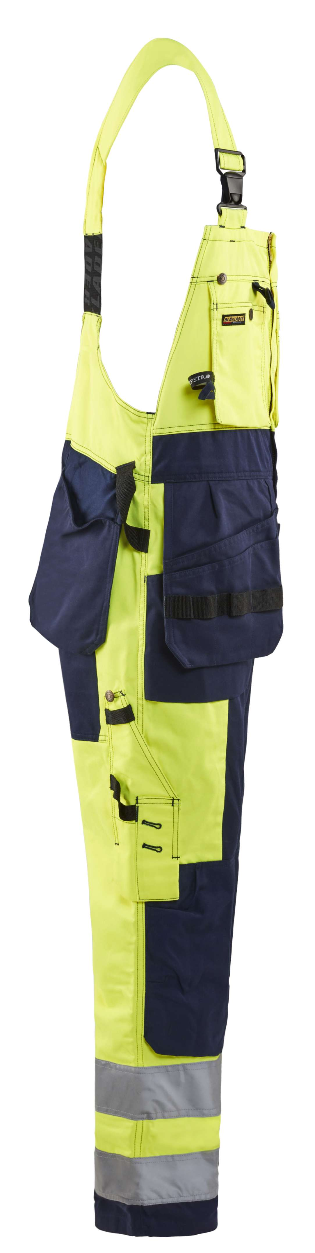 Blaklader Am. Overalls 26031860 High Vis geel-marineblauw(3389)