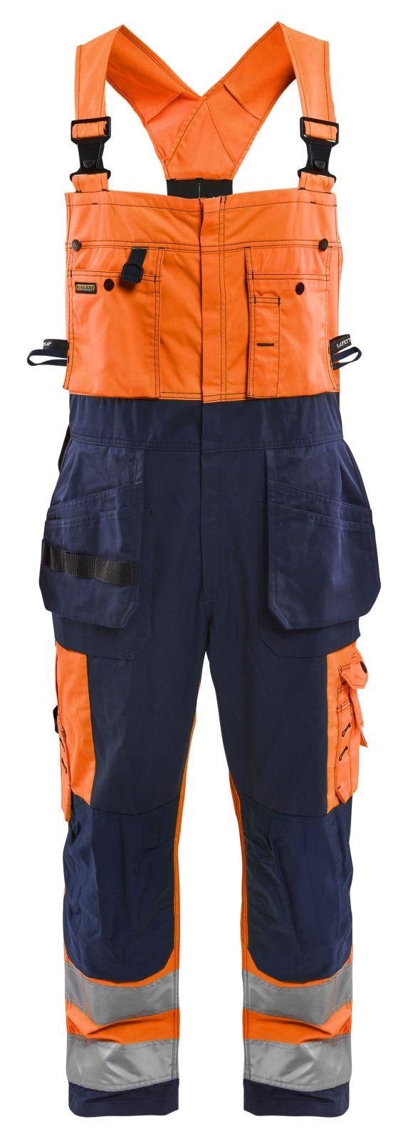 Blaklader Am. Overalls 26031860 High Vis oranje-marineblauw(5389)
