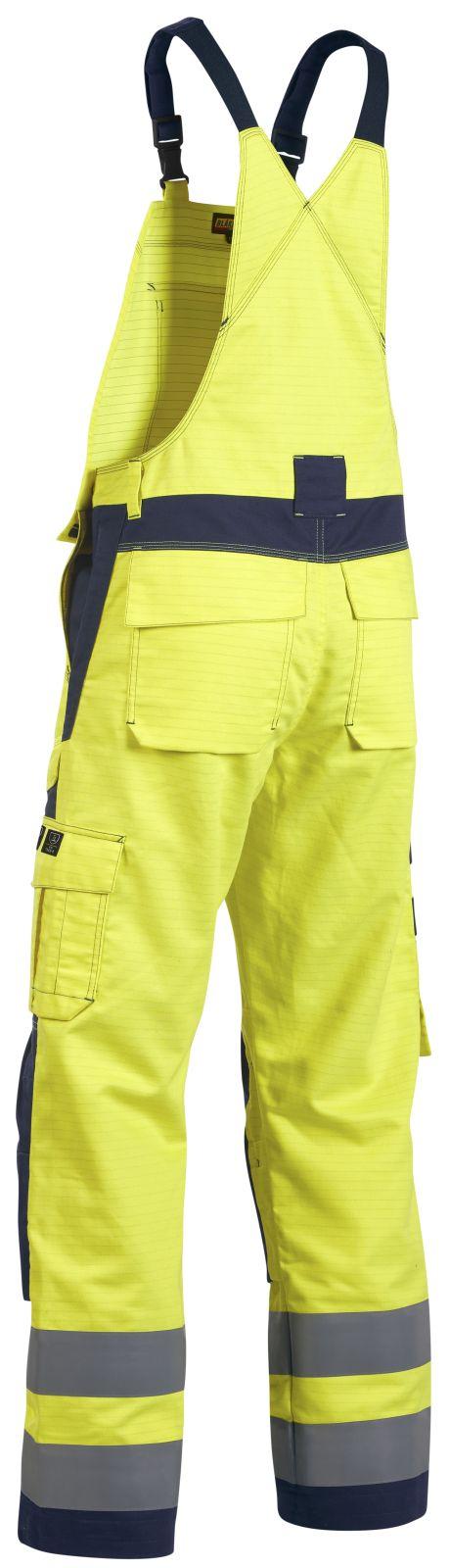 Blaklader Amerikaanse overalls 26081506 Multinorm geel-marineblauw(3389)