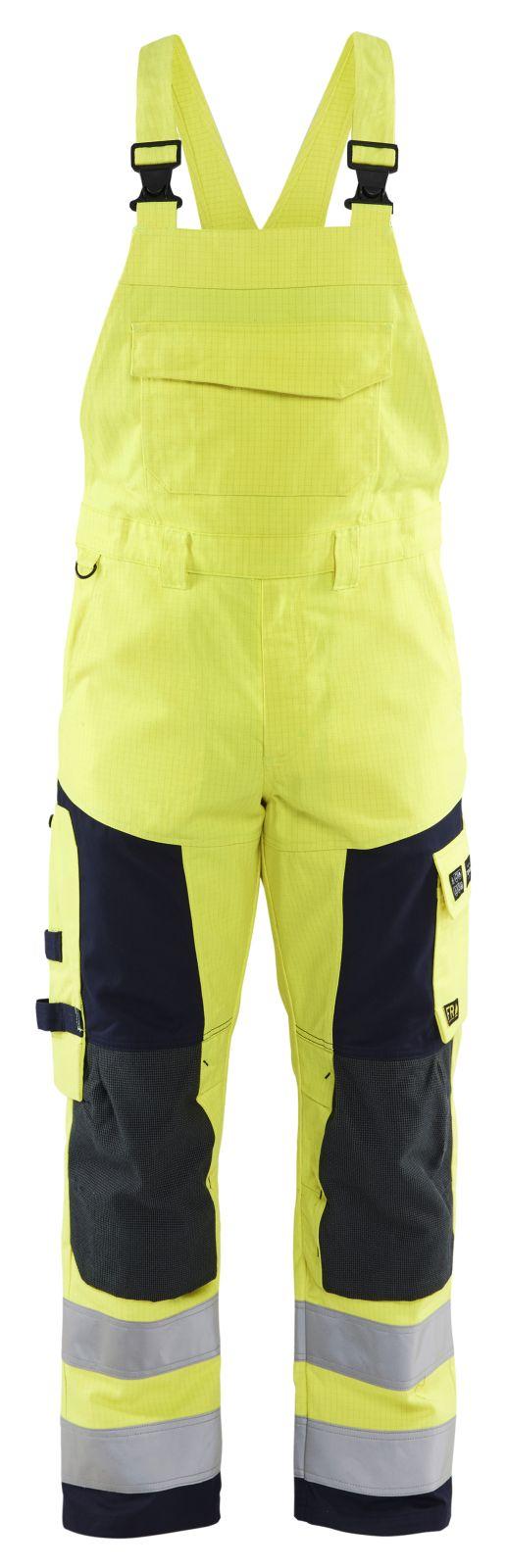 Blaklader Amerikaanse overalls 26081514 Multinorm geel-marineblauw(3389)