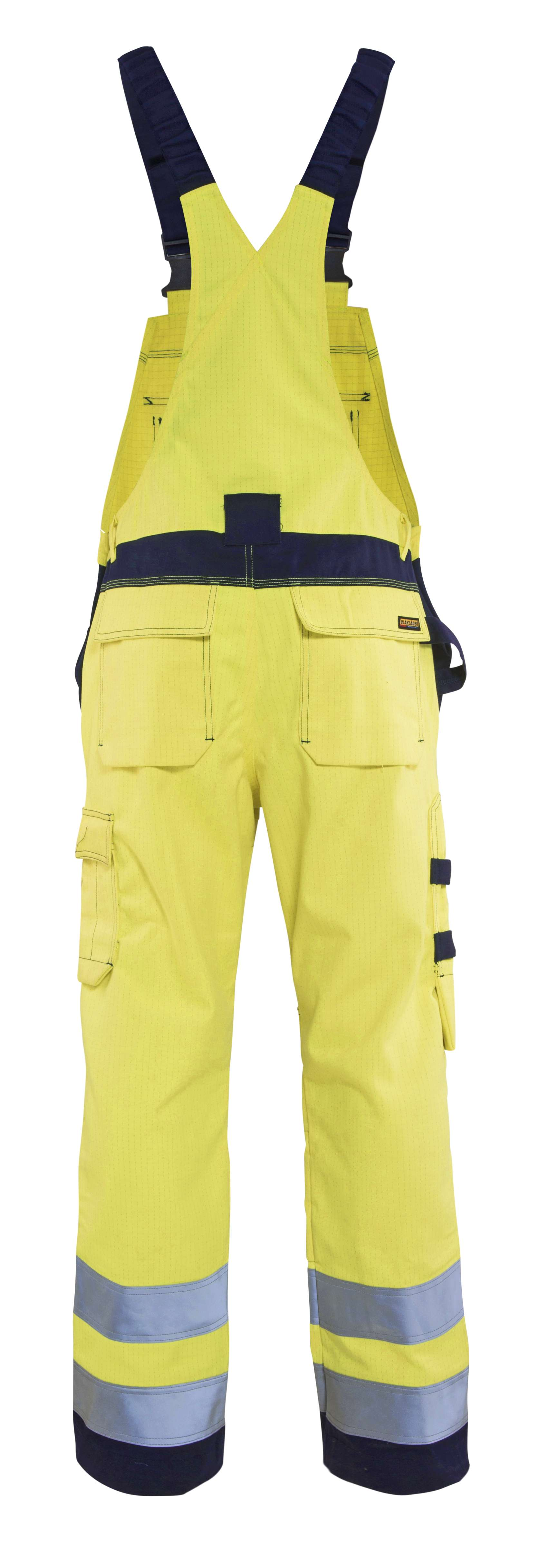Blaklader Am. Overalls 26081514 Multinorm geel-marineblauw(3389)