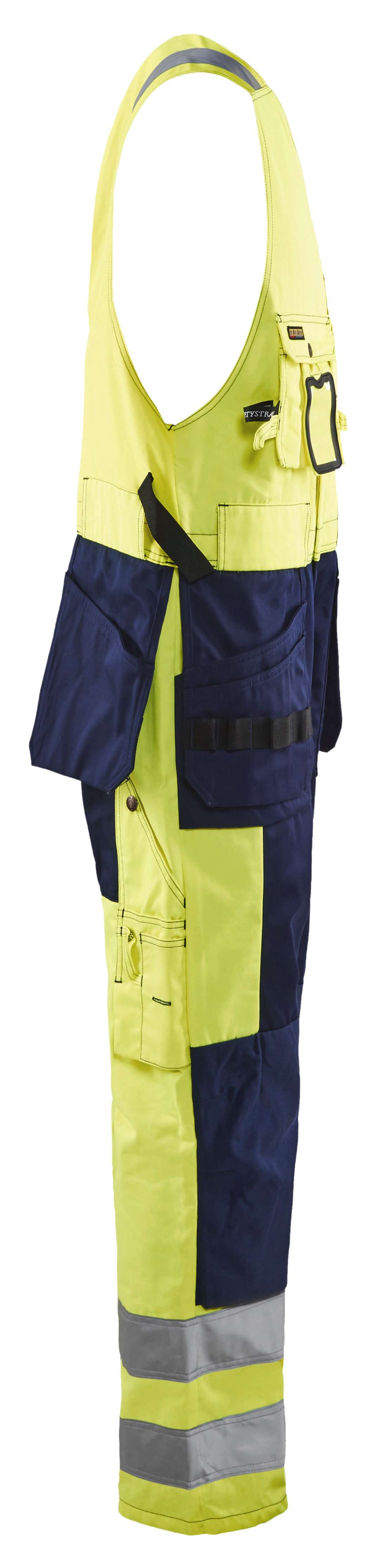 Blaklader Bodybroeken 26531804 High Vis geel-marineblauw(3389)