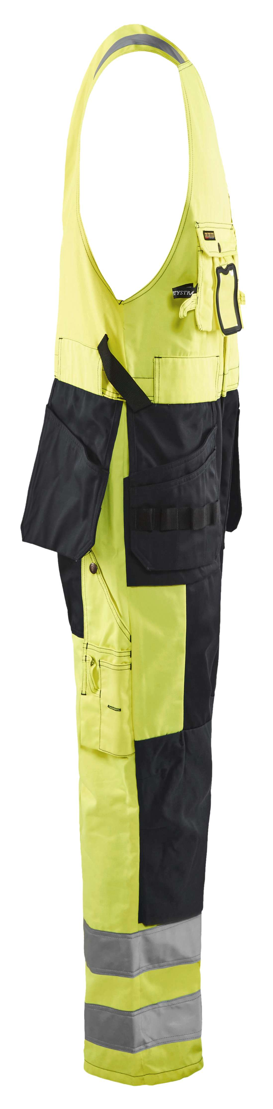 Blaklader Bodybroeken 26531804 High Vis geel-zwart(3399)