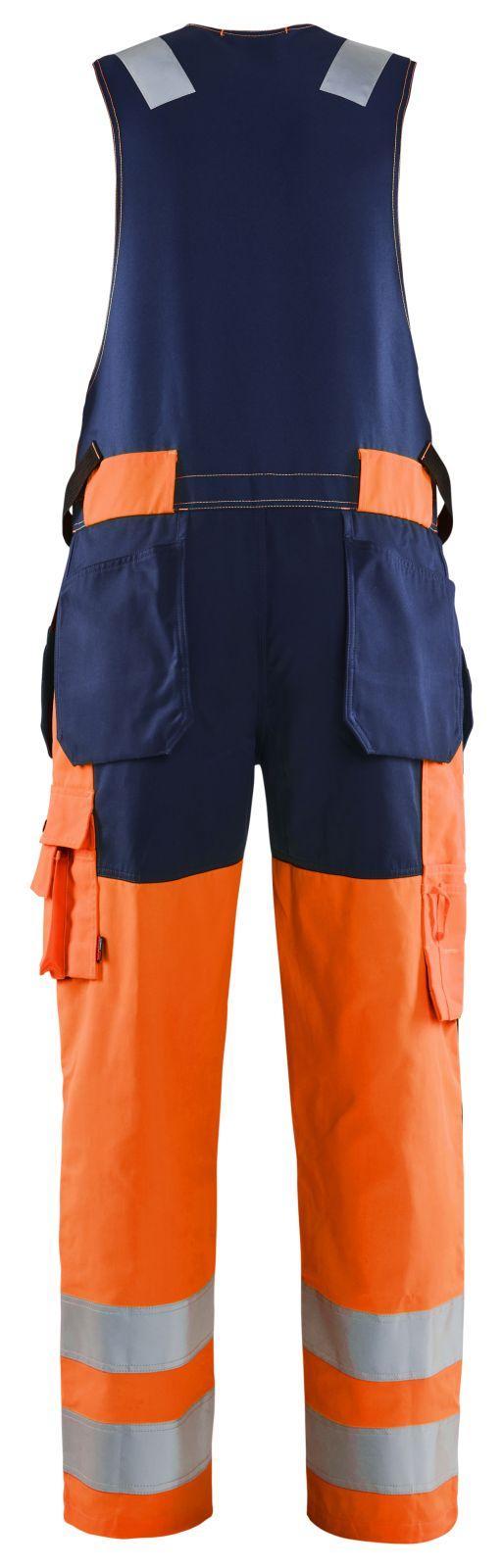 Blaklader Bodybroeken 26531804 High Vis oranje-marineblauw(5389)