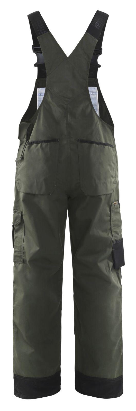 Blaklader Tuin Amerikaanse overalls 26541835 army groen-zwart(4699)