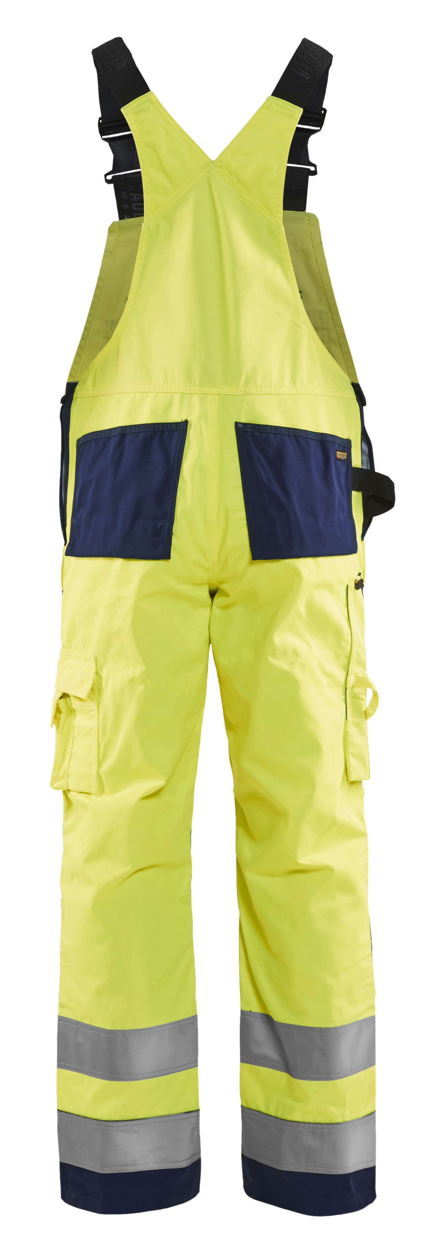 Blaklader Am. Overalls 26601804 High Vis geel-marineblauw(3389)
