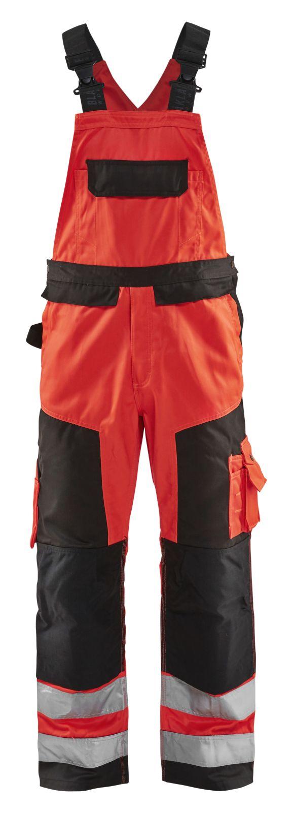 Blaklader Amerikaanse overalls 26601804 High Vis fluor rood-zwart(5599)