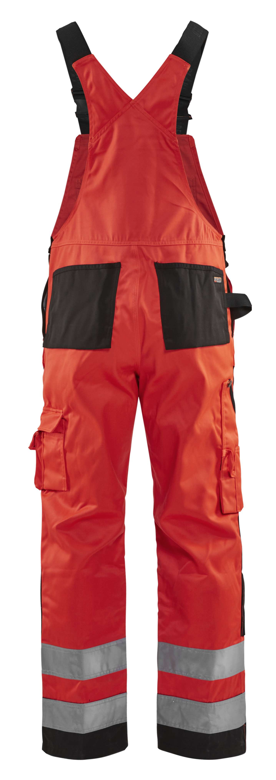 Blaklader Am. Overalls 26601804 High Vis fluo rood-zwart(5599)