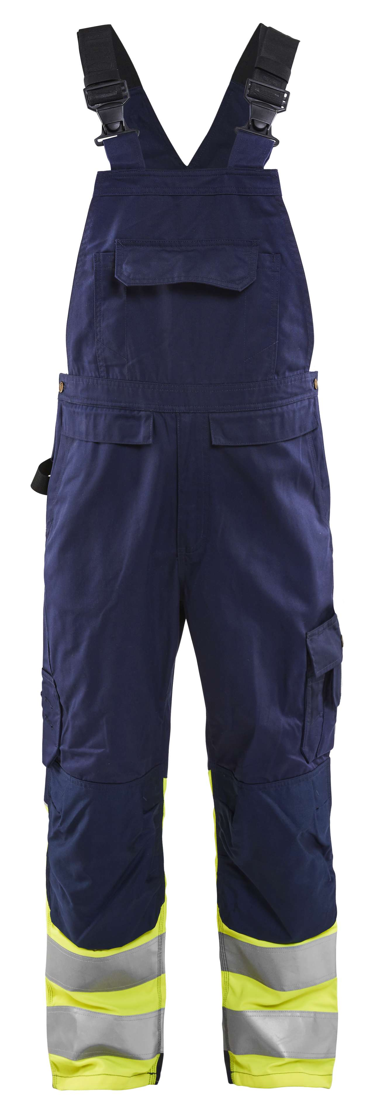 Blaklader Am. Overalls 26621800 High Vis marineblauw-fluo geel(8933)