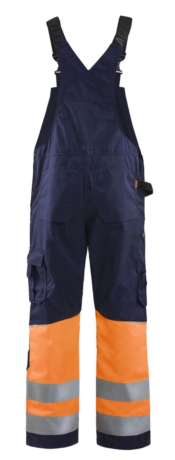 Blaklader Am. Overalls 26621800 High Vis marineblauw-oranje(8953)