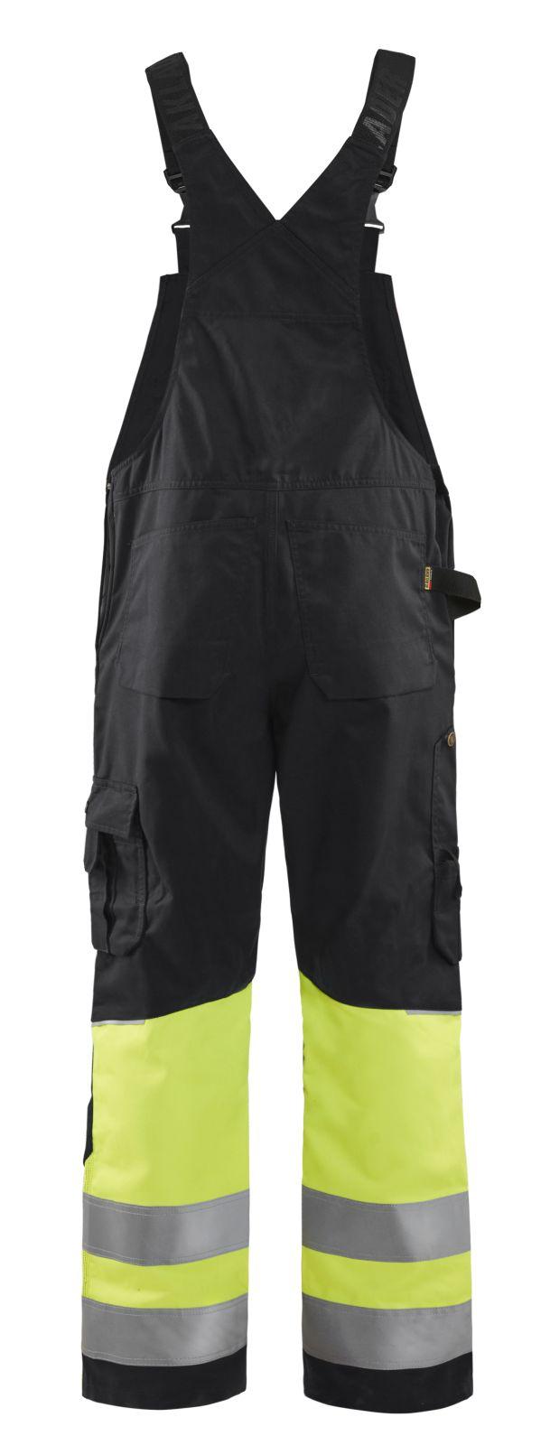 Blaklader Am. Overalls 26621800 High Vis zwart-fluo geel(9933)