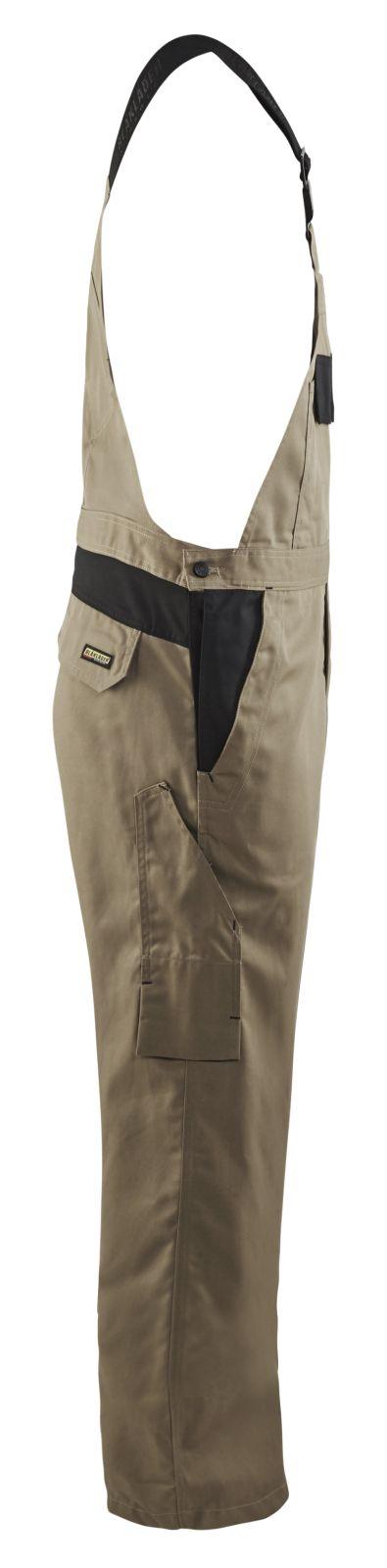Blaklader Amerikaanse overalls 26641800 khaki-zwart(2499)
