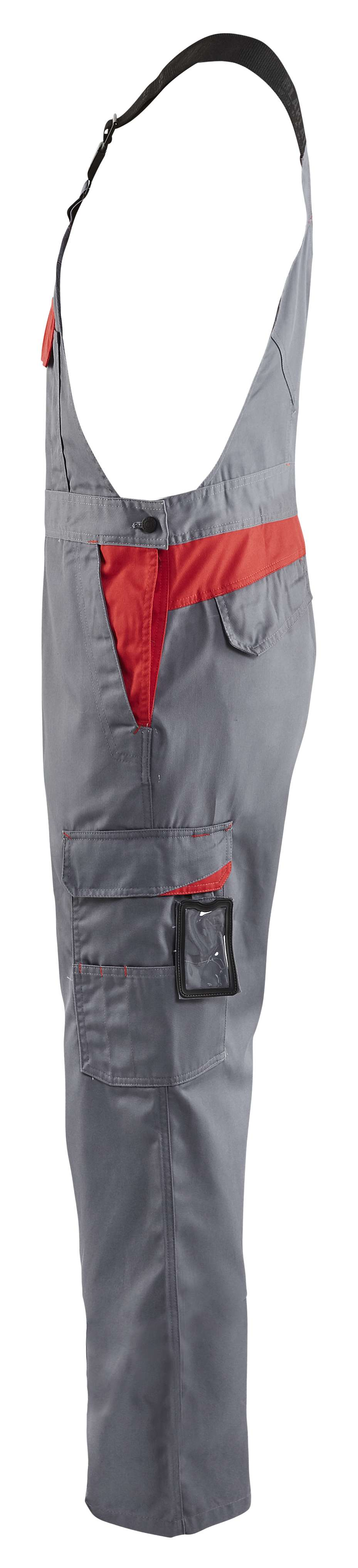 Blaklader Amerikaanse overalls 26641800 grijs-rood(9456)