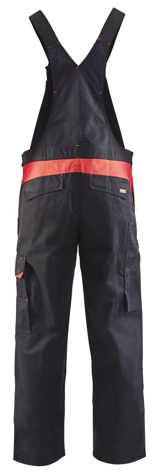 Blaklader Amerikaanse overalls 26641800 zwart-rood(9956)